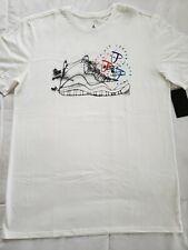 5a470ed7bd6698 Nike Air Jordan Legacy Tinker Story T-shirt NWT Men s XL White JSW BQ0273  100