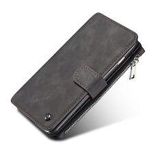 Handy Tasche für Samsung Wallet Leder Flip Cover Case Echt Schutz Hülle Etu DECC