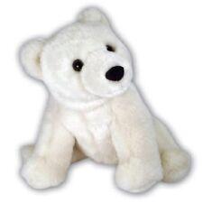 NEW ARK TOYS WHITE POLAR BEAR CUB SOFT CUDDLY TOY PLUSH STUFFED TEDDY