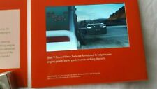 SHELL V-POWER NITRO+ VIDEO BROCURE - PROMO TV SPORTS AD  - NEW - COLLECTIBLE