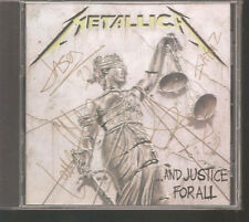 "METALLICA ""...And Justice For All"" Australia signature Gold Edition CD sealed"