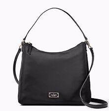 New Kate Spade Blake Avenue  Justyne Hobo Tote  Hand bag Black WKRU4060