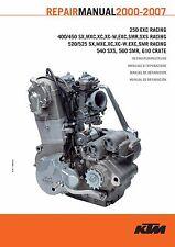 KTM Engine Service Workshop Shop Repair Manual Book 2006 450 SX