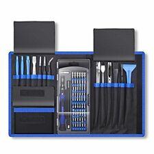 Professional Computer Repair Tool Kit, Precision Laptop Screwdriver Set, 80 in 1