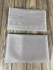 """Unbranded Gray Cutains 24"""" X 30"""" Set Of 2"""