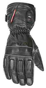 Joe Rocket Rocket Leather Burner Heated Winter Snow Snowmobile Gloves