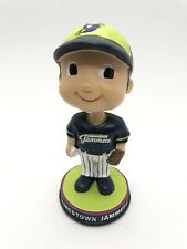 Jamestown Jammers Mini Bobble Boy JAMMERS MASCOT MINI BOBBLE BOY ORIG BOX EUC