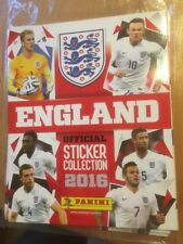 PANINI EMPTY ENGLAND 2016 OFFICIAL STICKER COLLECTION ALBUM - MINT