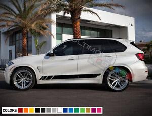 Sticker Decal Side Stripe Kit for BMW X5 2009 2011 2012 2013 2014 2015 2016 2017