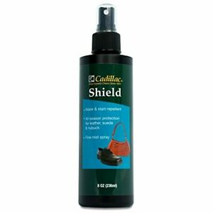 Cadillac Shield Water and Stain - Leather and Fabric Protector Spray - Great for