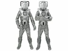 "Doctor Who ""Silver Nemesis"" Cyberleader and Cyberman Figure Set of 2 NEW!"