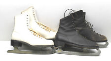 2  Pair Ice Skates Womens Size 10 Japanese+Vintage Canadian Imperial Sz 9 Canada