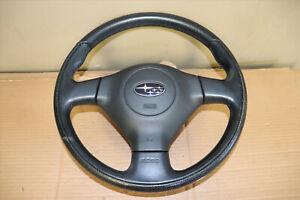 JDM 2008-2009 Subaru Legacy BL9 Forester Impreza OEM Momo Steering Wheel