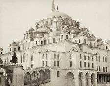 Fatih Mosque Istanbul Turkey James Robertson 1854 , Reproduction Photo 7x5 inch