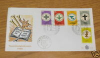 FIRST DAY ISSUE 1968 SURINAME STAMPS CHRISTMAS PARAMARIBO