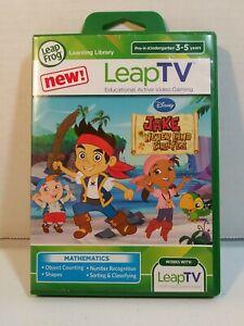 LeapFrog Leap TV Disney Jake and the Never Land Pirates Educational FREE SHIP