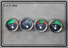 Massey Ferguson 20D, 20F, 30E, 40E, MH50 Temp+Oil(M) + Fuel Gauge+Voltmeter