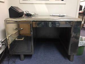 vintage Steel Desk