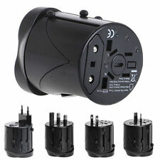 Universal International Travel AC Adapter For Power Outlet Plug UK US AU Europe