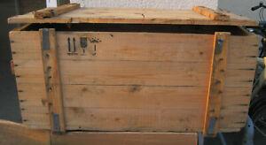 Weinkiste Truhe Bank Tisch Stuhl Möbel Holzkiste Shabby -Chick Vintage  3.Wahl