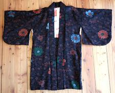 Circa 1970 Handgefertigte Japanische Kimono Jacke Haori Seide