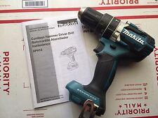 "Makita XPH12Z 18V LXT Li-Ion Brushless 1/2"" Hammer Drill with Belt Clip XPH12"