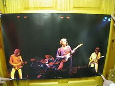 Dire Straits Poster Band Shot Dark Stage Scotland The