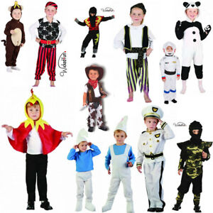 New Kids Boys World Book Day School Fancy Dress Toddler Costumes Age 4 Years