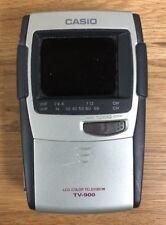 D19 Vintage Casio Tv-900B Portable Color Tv Pocket Television