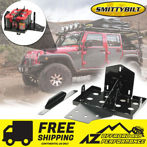 Smittybilt Dual Battery Tray For 2007-2011 Jeep Wrangler JK  JKU 2799
