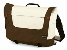 "LowePro 14"" Slim Factor M Messenger Bag For Notebooks/Netbooks (Expresso/Latte)"