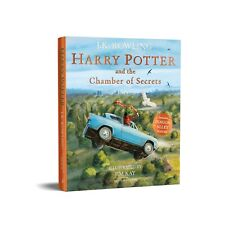 Harry Potter And The Chamber Of Secrets: Illustrated Edition Rowling NEW Paperbk