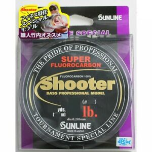 NEW Sunline Shooter Finesse Special 100m 8lb #2 Clear Bass Fluorocarbon Line JPN