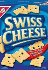 Christie Swiss Cheese Crackers 6 BOXES 200g Each From Canada -FRESH & DELICIOUS!