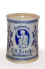Alter Kautabaktopf F.C. Lerche Nordhausen Tabaktopf tobacco jar Westerwald Topf