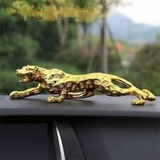 Leopard Jaguar Car Decor interior Cat Home Office Decoration Metal Statue