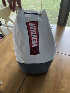 Venum Elite Sling Bag White Canvas Boxing Glove Bag