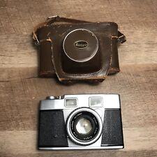 RARE - Argon Rangefinder 35mm Camera  W/ Super Color 1:1.9 f45mm Lens