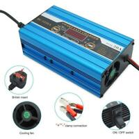 Intelligent 12V 30A Quick Leisure Battery Charger For Caravan Boat Motorhome UK