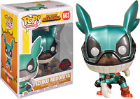 METALLIC IZUKU MIDORIYA DEKU with HELMET Funko Pop Vinyl New in Box