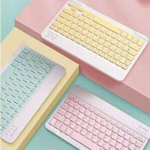 Universal Chocolate Keypad Slim Handy Keypad Mini Wireless Household Keyboard