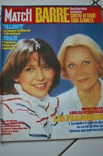 PARIS MATCH N°1808 michele morgan sophie marceau julien clerc lee marvin noah