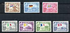 Liberia Mint H Set President Truman Visit Europe 1956 Airmail Flags J124