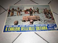SHANE IL CAVALIERE DELLA VALLE SOLITARIA A. LADD HEFLIN ARTHUR STEVENS FOTOBUSTA