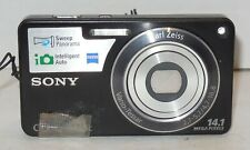 Sony Cyber-shot DSC-W350 14.1MP Digital Camera - Black