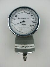 Cistern Gauge Water Level Indicator - Inches of Fresh Water