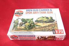 Soldatini Figure AIRFIX HO Bren guunner Carrier & 6pdr CANNONE ANTICARRO 01309