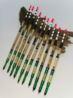 Tench Fishing Floats Handmade Traditional Tench Lifter Floats Inlaid. Set of 5