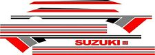 SUZUKI SAMURAI DECALS LINES STICKERS CALCOMANIAS GRAFICAS RED GRAY AND BLACK 3M