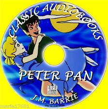PETER PAN & WENDY BY JM BARRIE MP3CD CLASSIC PANTO STORY KIDS GOOD AUDIOBOOK NEW